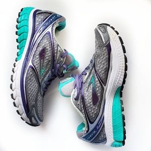 Brooks Ghost 7 Road Running Shoes Purple/ Teal